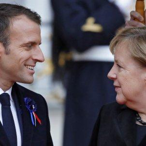 Macron Merkel - EFE
