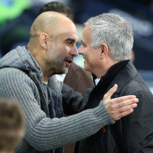 Pep Guardiola José Mourinho EFE