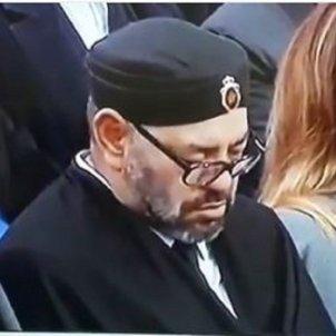 Mohamed VI dormint twitter