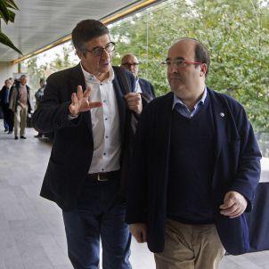 Patxi López (i), i Miquel Iceta II Convenció Federalista (Marta Pérez Efe)