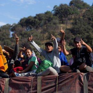 Caravana del migrant 12 11 EFE