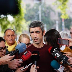 Roger Español afectat pilota de goma Ciutat de la Justicia - Sergi Alcàzar
