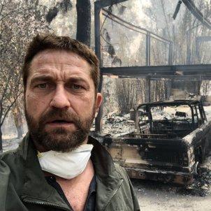 Gerard Butler incendi Califòrnia @gerardbutler