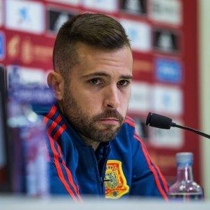 Jordi Alba selecció espanyola EFE