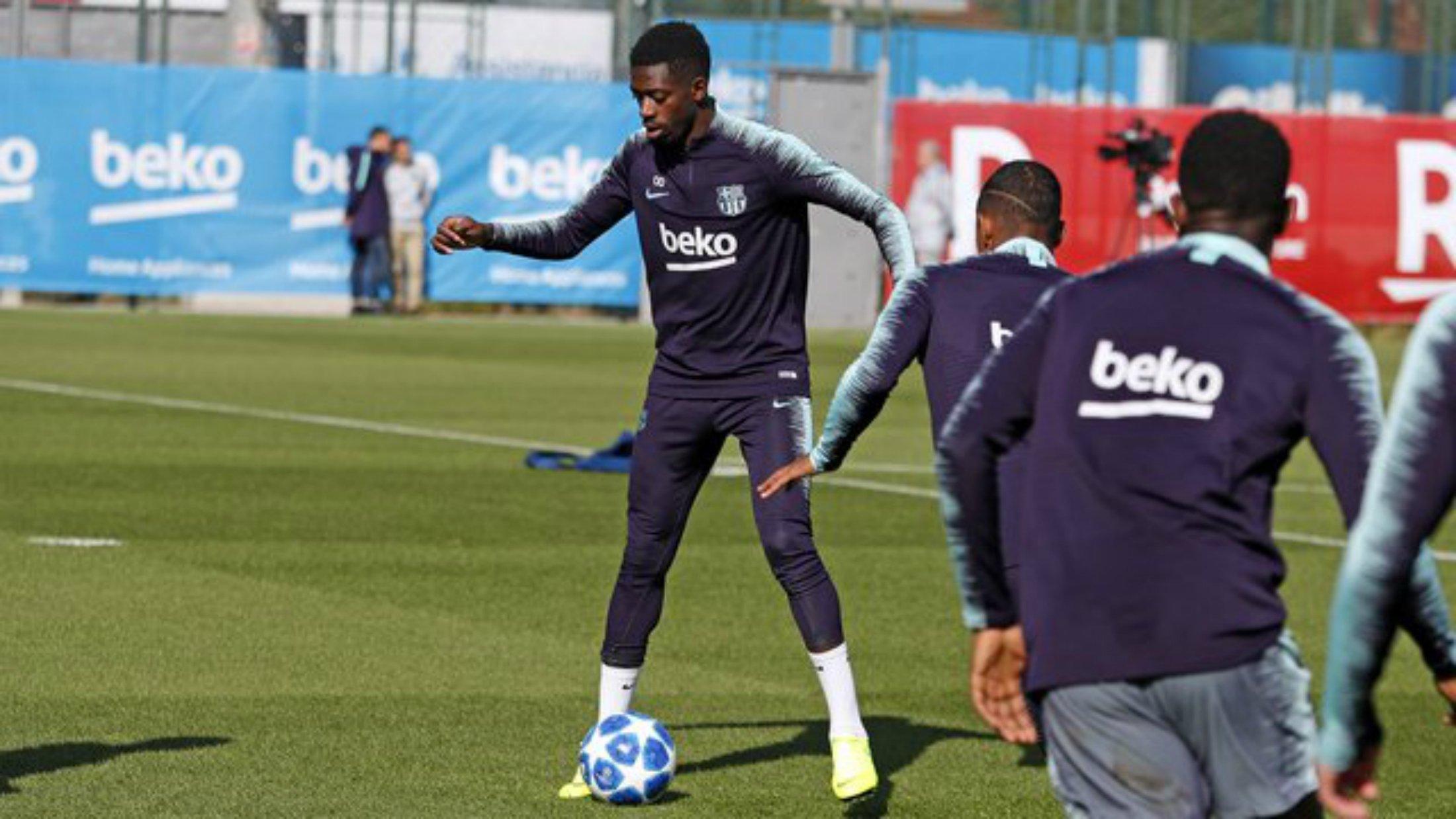 dembele barça FC Barcelona