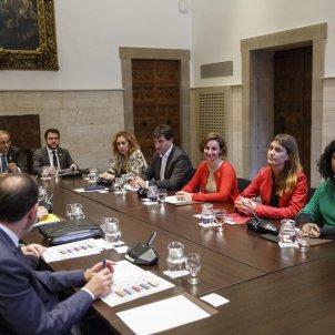 Torra Aragones reunio Partits a la Generalitat - Sergi Alcàzar