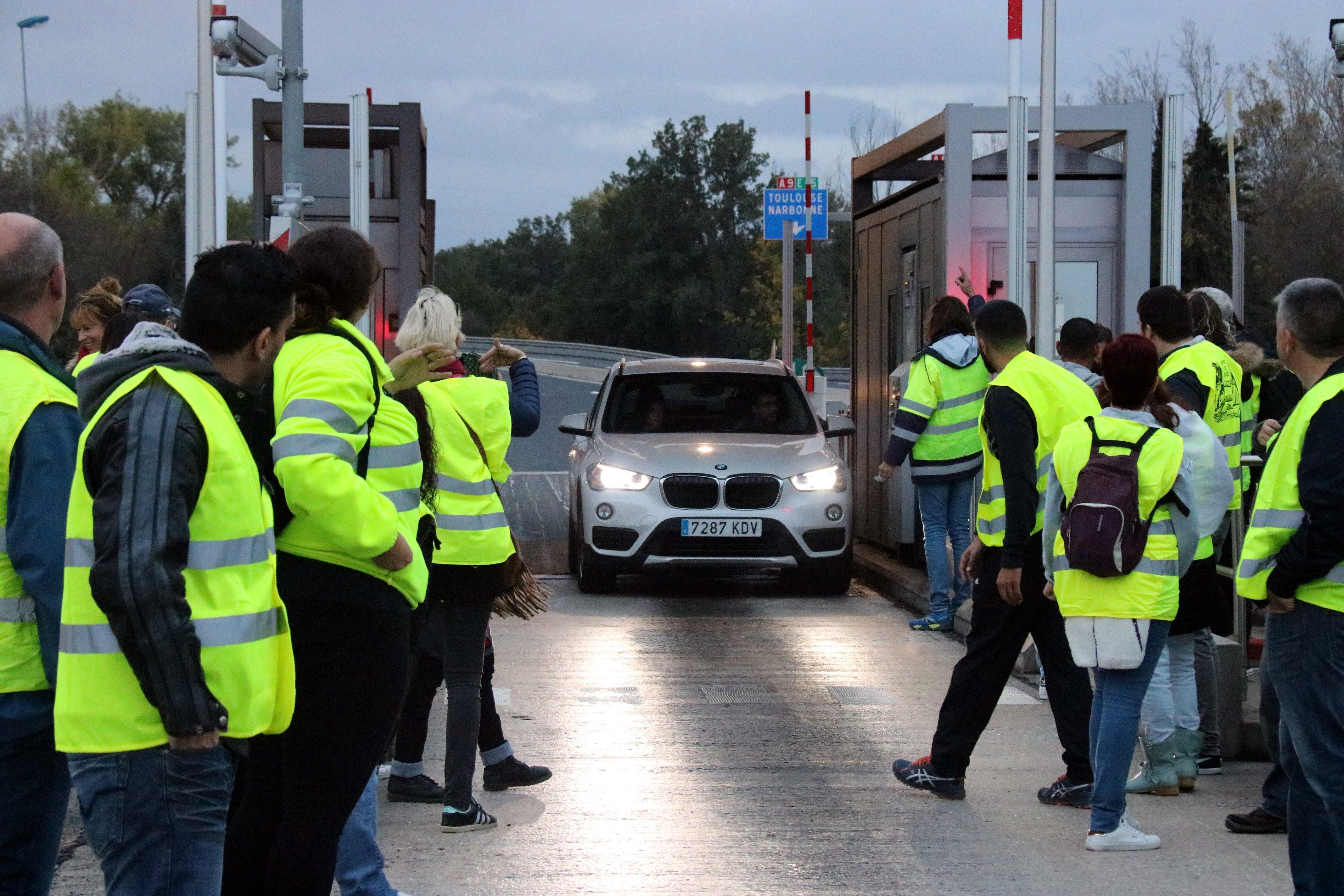 Protesta Transportistes Francesos -ACN