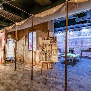 exposicio grip espanyola foto museu Florence Nightingale