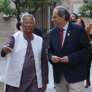Reunió Quim Torra Muhammad Yunus - Ruben Moreno
