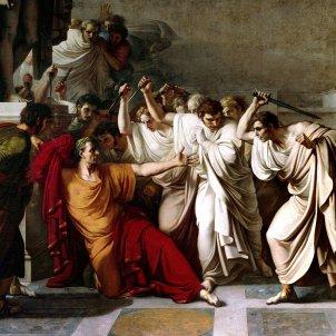 Juli Cèsar Assassinat 2 (Vincenzo Camuccini 1789
