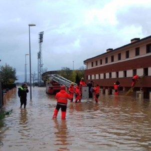bombers figueres inundacions @bomberscat