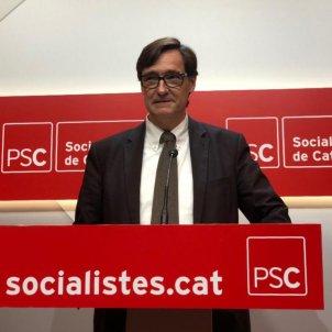 Salvador Illa PSC Nicolás Tomás