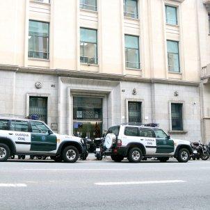 Cotxes Guardia Civil Escorcol Autoritat Catalana Competència ACN