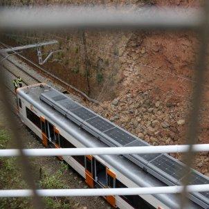 Accident tren Vacarisses ACN