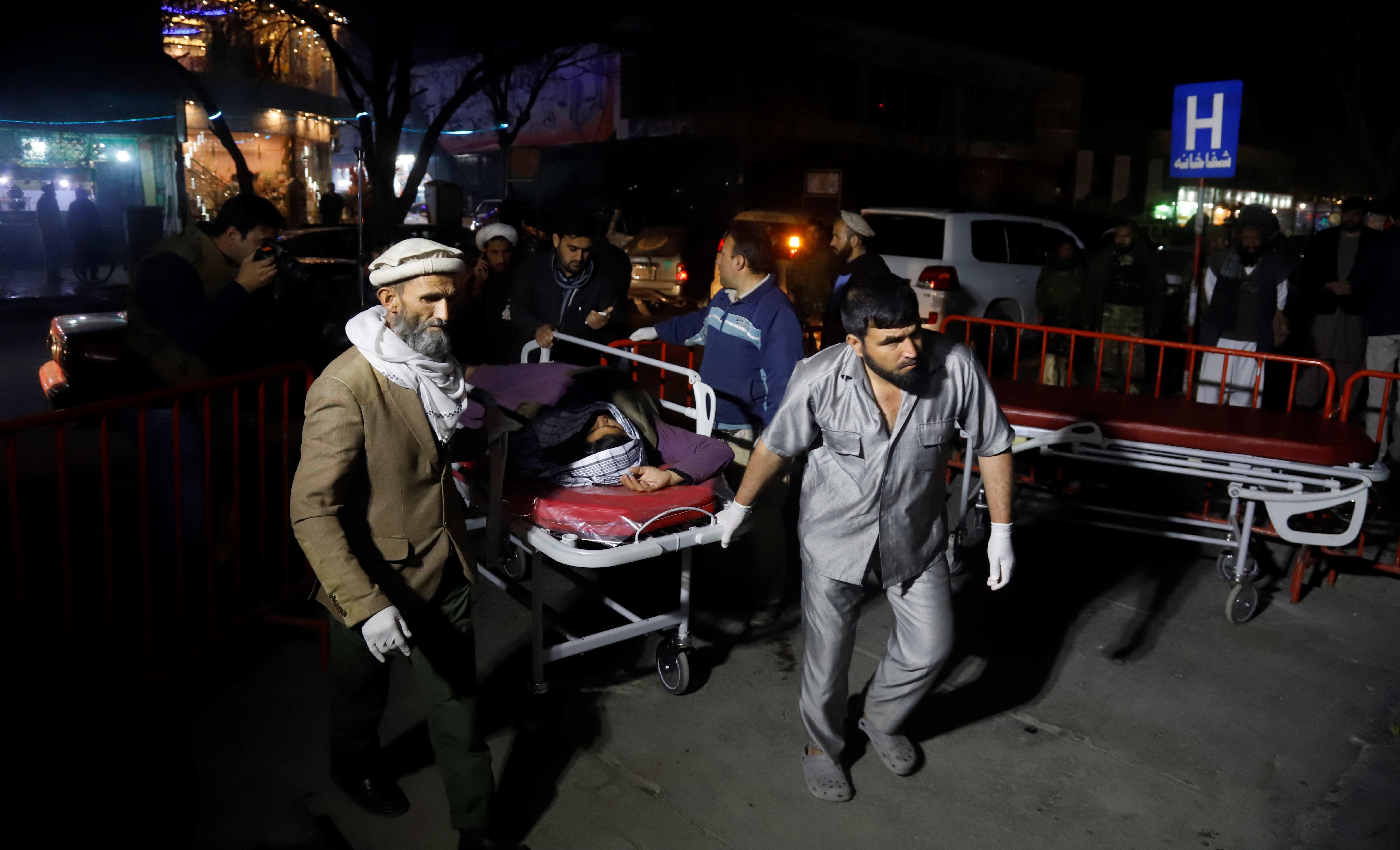 Atentado Kabul EFE