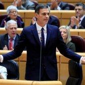 Pedro Sánchez sessió control Senat - Efe