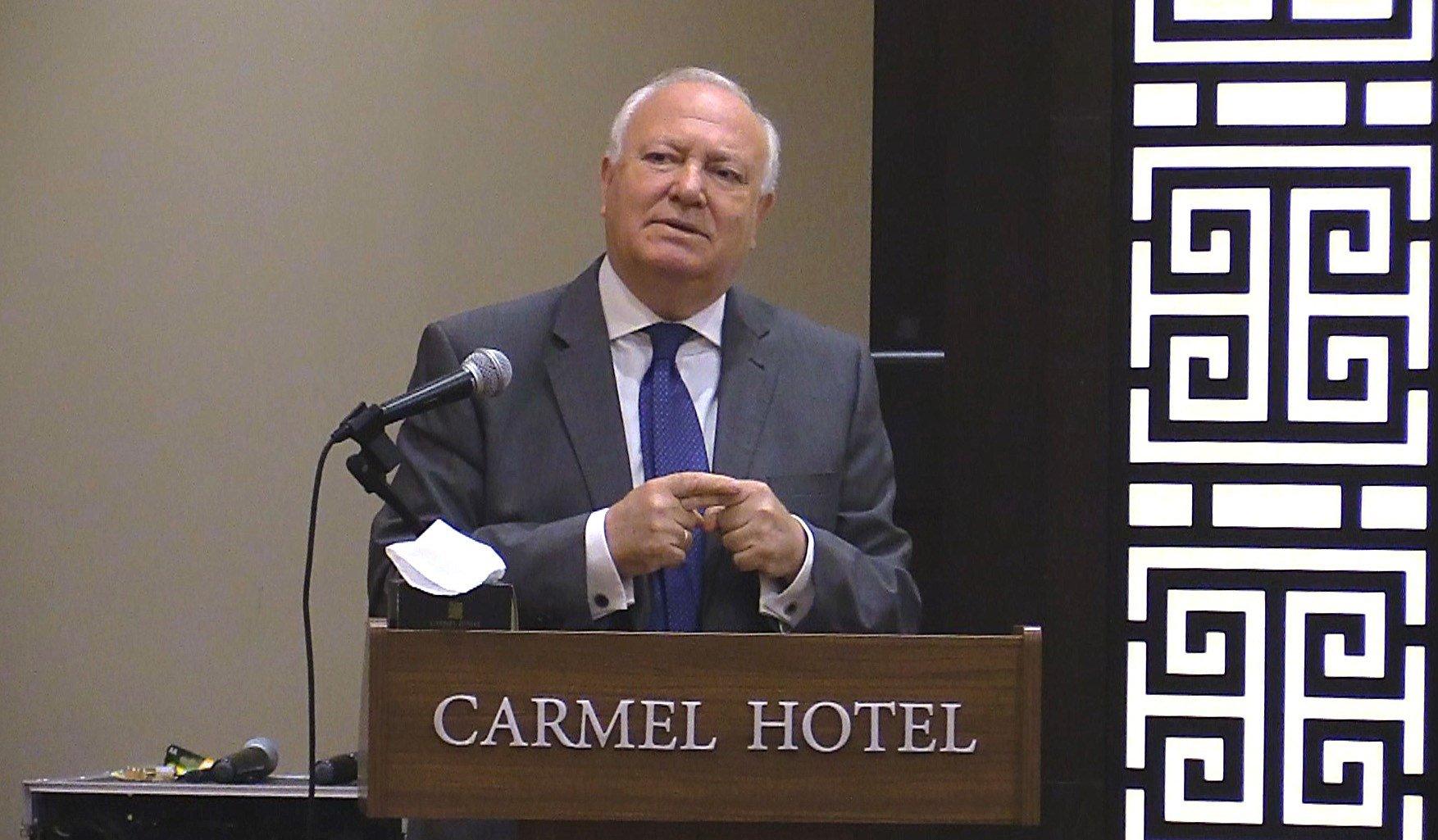 Miguel Ángel Moratinos - efe