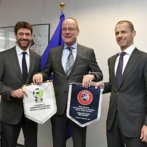 Agnelli Ceferin @ECAEurope