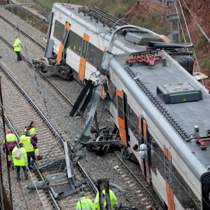 descarrilament vacarisses rodalies efe