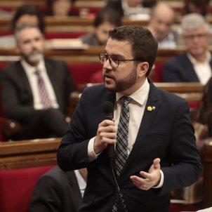 Pere Aragonès Parlament - Víctor Serri