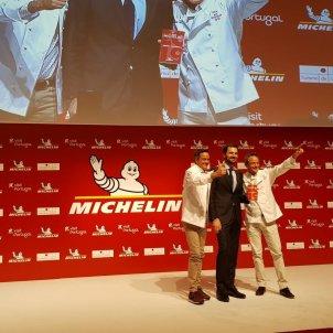 Germans Torres gala estrelles michelin - @GuiaMichelin_ES