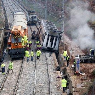 tren descarrilat vacarisses ACN
