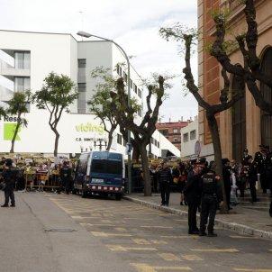 manifestacio presos missa policia tarragona - acn