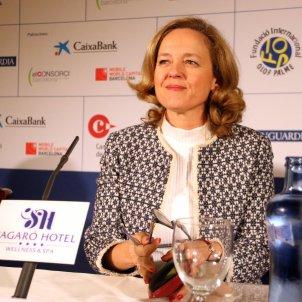 nadia calviño ministra economia PSOE s'agaro ACN