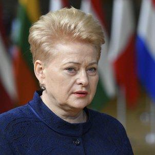 Dalia Grybauskaite lituania efe