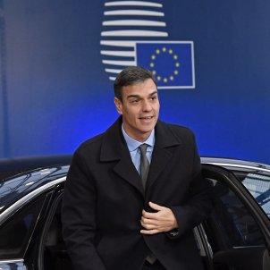Pedro Sánchez cimera UE Efe