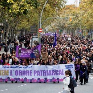 manifestació barcelona violència dones Efe