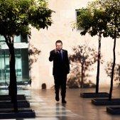 Pere Aragonès mòbil Pati tarongers ERC Govern - Efe