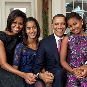Barack Obama family - Pete Souza Wikimedia