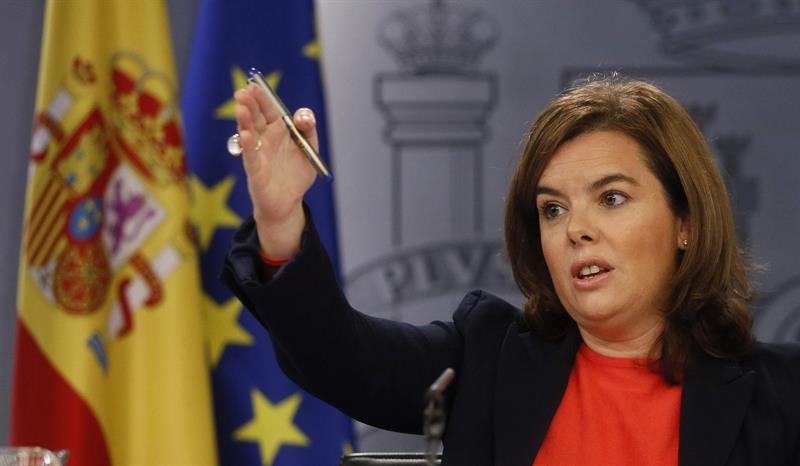 Soraya Sáenz de Santamaría consell de ministres