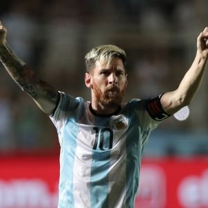 Leo Messi gol Argentina Colombia EFE