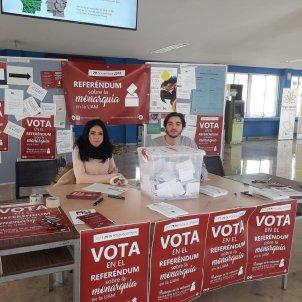 Meses de votació pel referèndum sobre la monarquia a la UAM