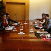 Reunió pressupostos Aragonès Albiach ACN