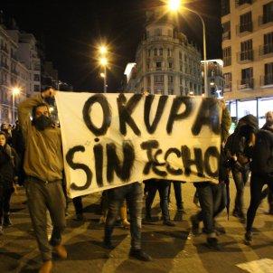 Manifestació okupes Anton Rosa