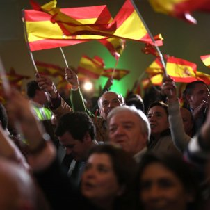 Vox bandera espanyola Andalusia - Efe