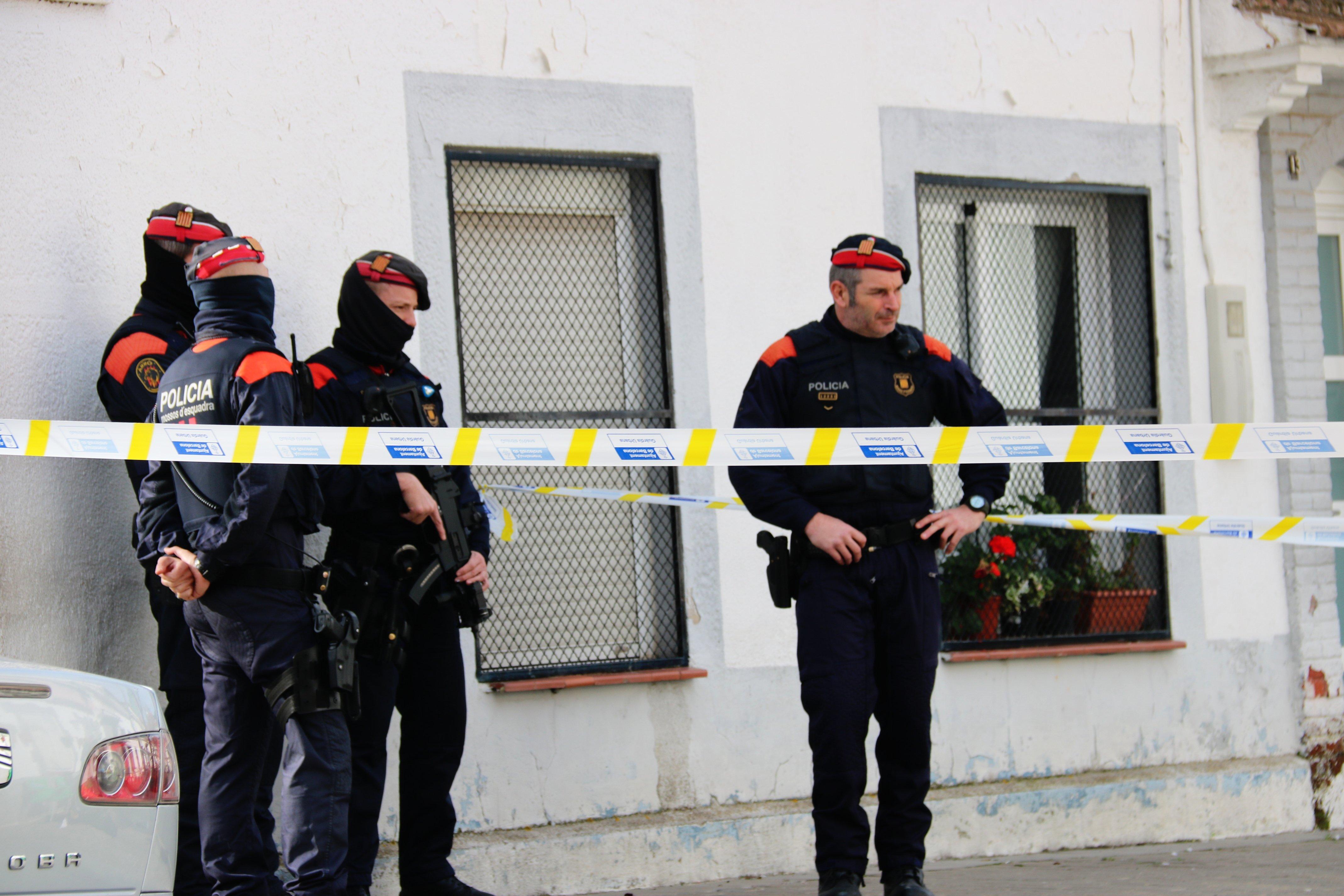 Mossos tiroteig Nou Barris