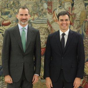 Pedro Sánchez i Felip VI ACN