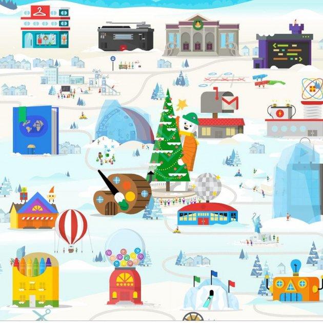 Google Presenta Sus Juegos Para Programar La Navidad