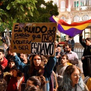 manifestacio contra vox almeria efe