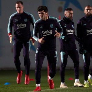 Aleñá entrenament Barça EFE