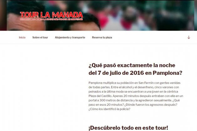 web tour la manada captura