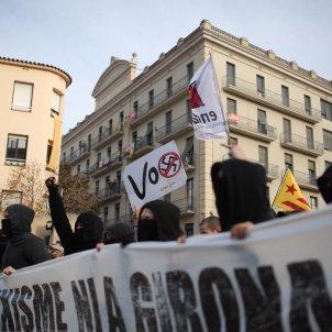 Manifestacio antifeixista Girona - Carles Palacio