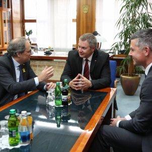 quim torra eslovenia presidents @govern