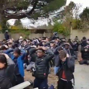 protestes franceses estudiants institut @Brevesdepresse