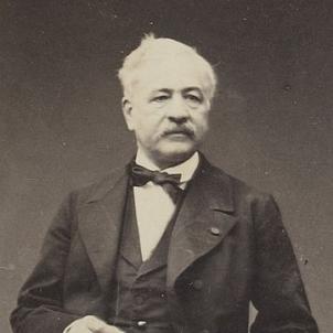 Mor Lesseps, el cònsol francès que va fer aturar el Bombardeig d'Espartero. Font Bibliothèque Nationale de France