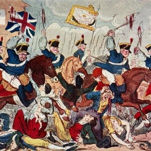 Massacre de Peterloo (George Cruikshank 1819)
